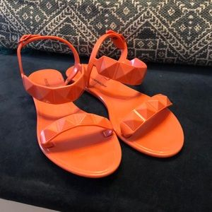Rebecca Minkoff Stud Jelly Sandals